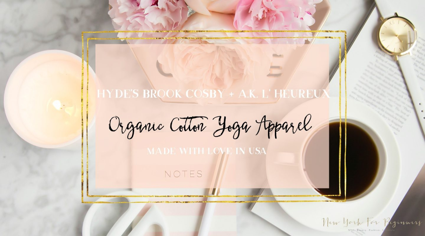 interview with the founders of Hyde organic cotton yoga apparel