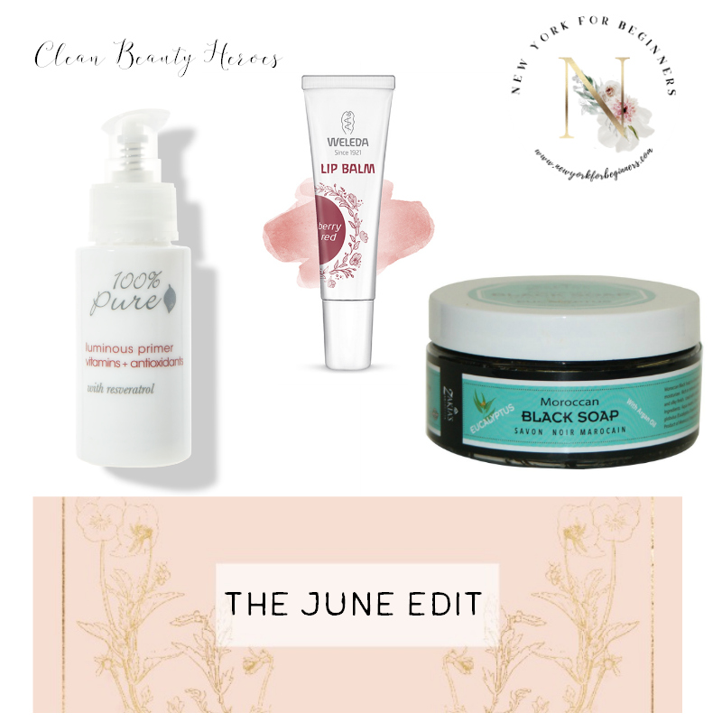 Favorite Clean Skincare and Makeup for the month of june