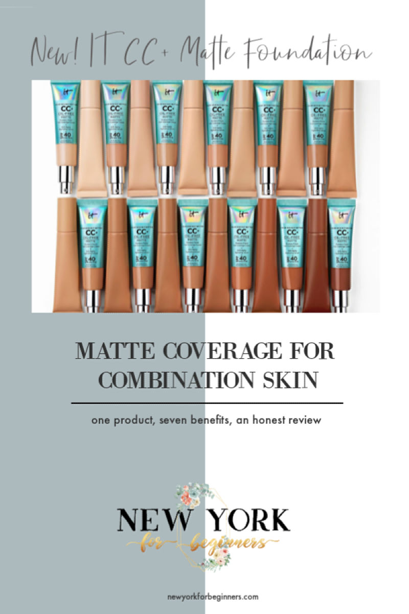 IT Cosmetics CC Matte Foundation