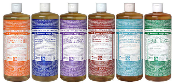 dr bronners castile soap back to school