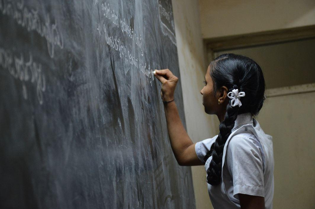 Indian Girl at School Sudara