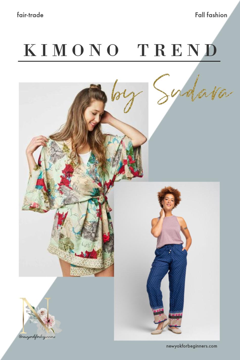 The Kimono Trend by Sudara