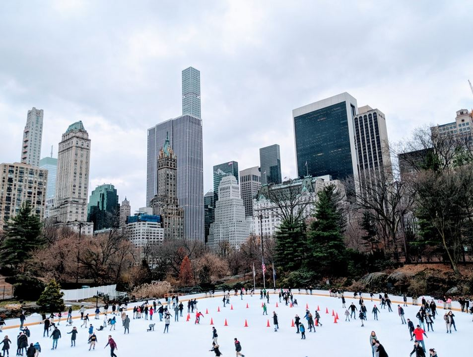 Wollman Rink christmas in new york city