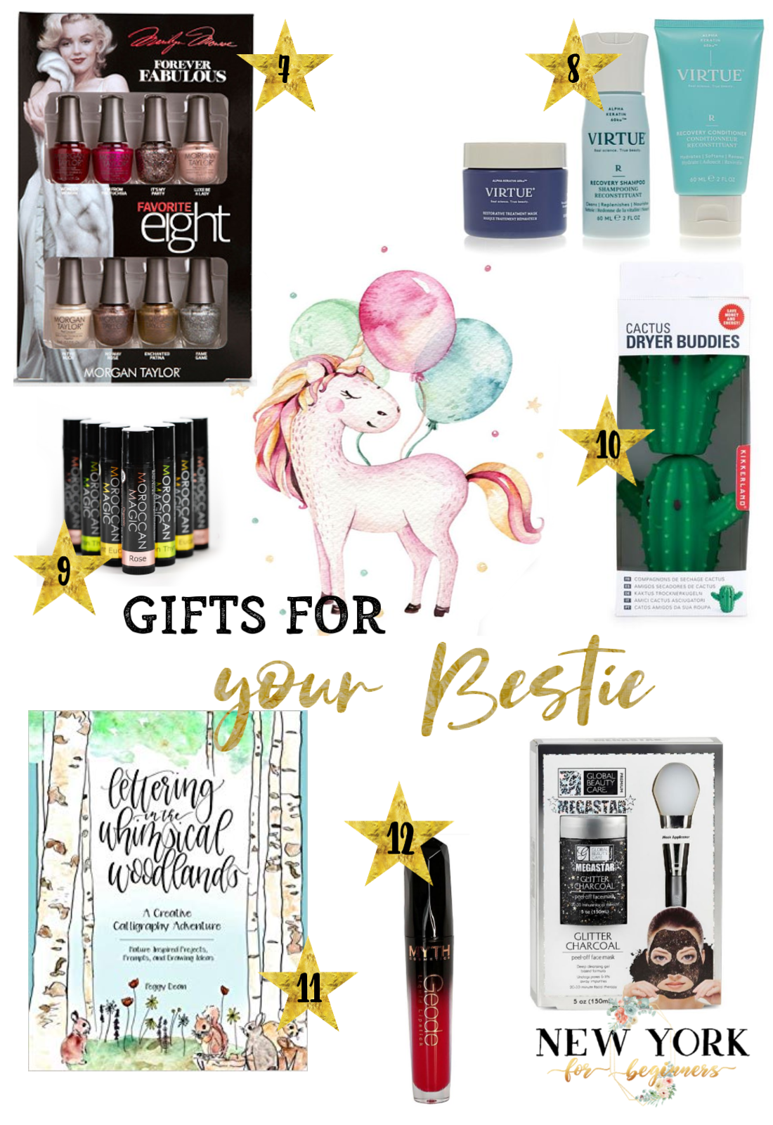 Holiday gifts for your best friend