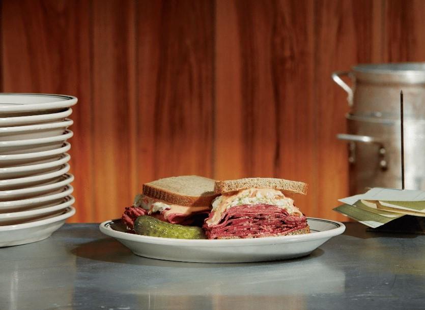 Carnegie Deli mrs. maisel sandwich