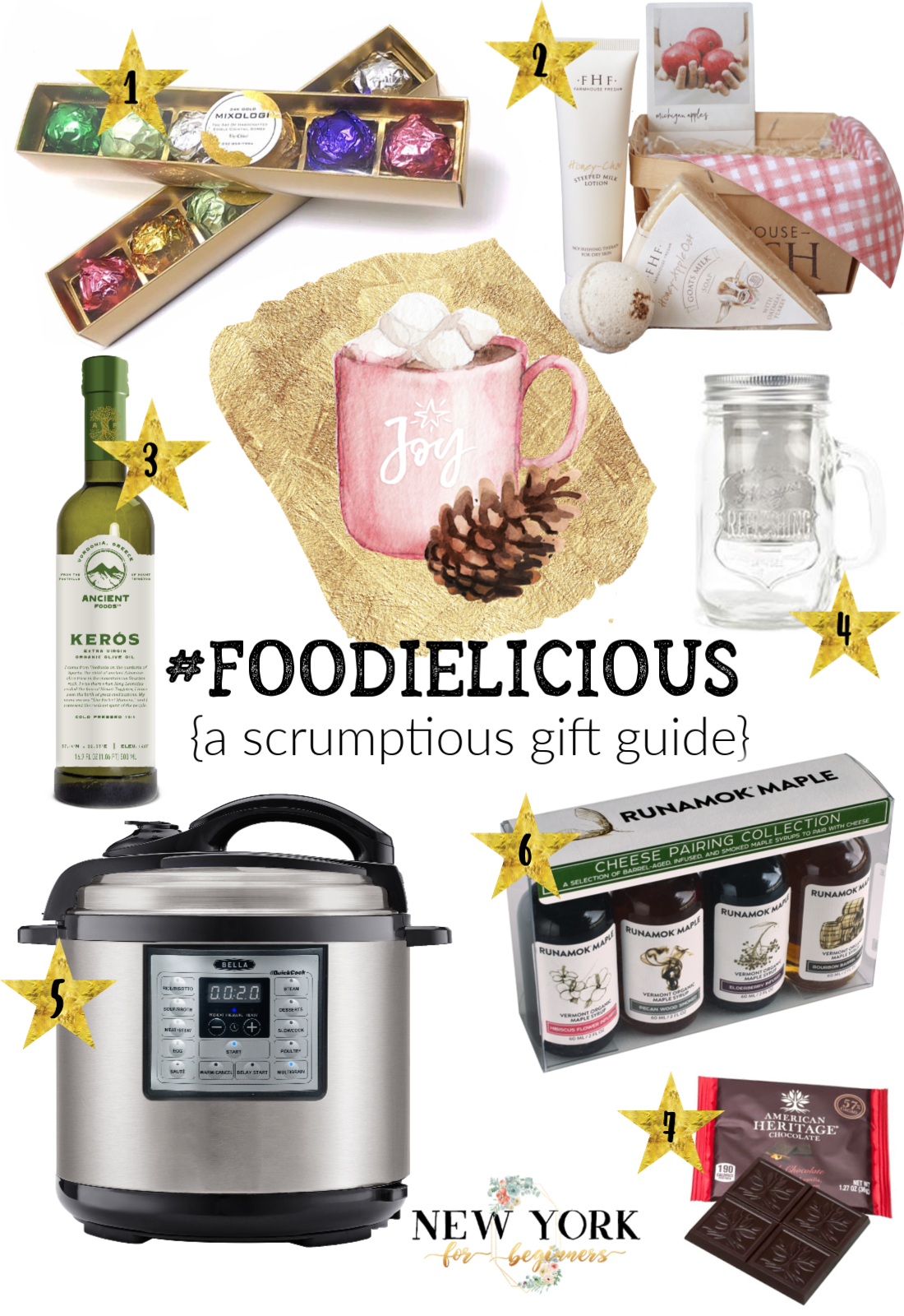 Foodielicious, holiday gift ideas for foodies
