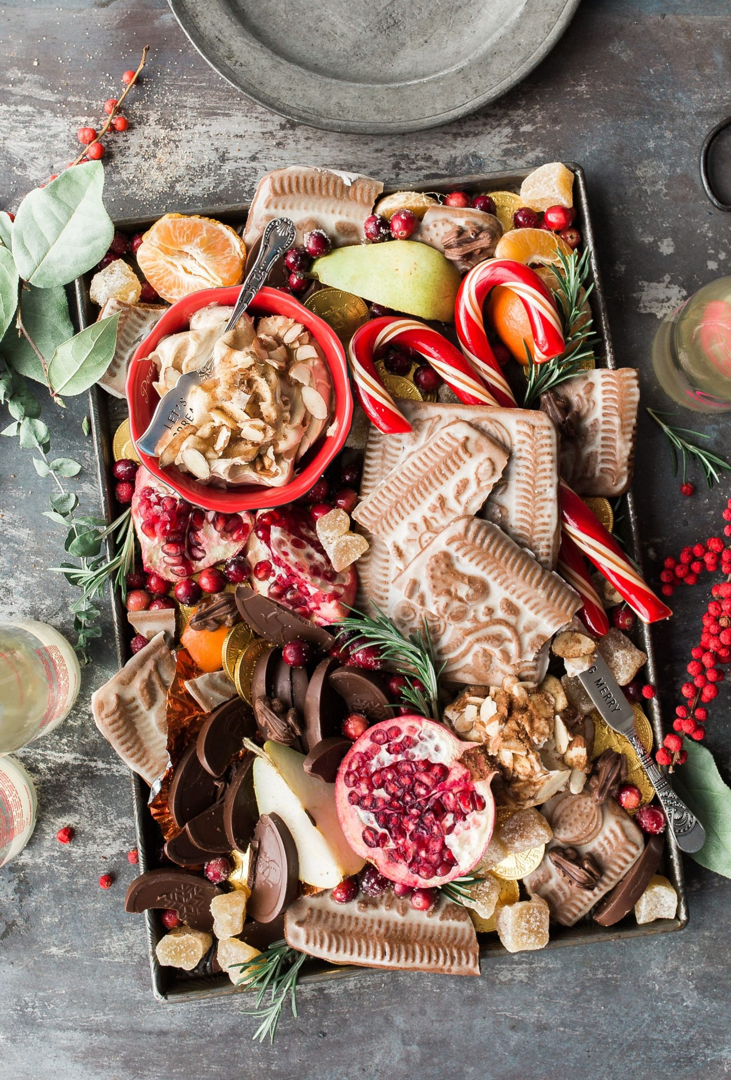 Fruits and veggies platter for stress-free holiday entertaining