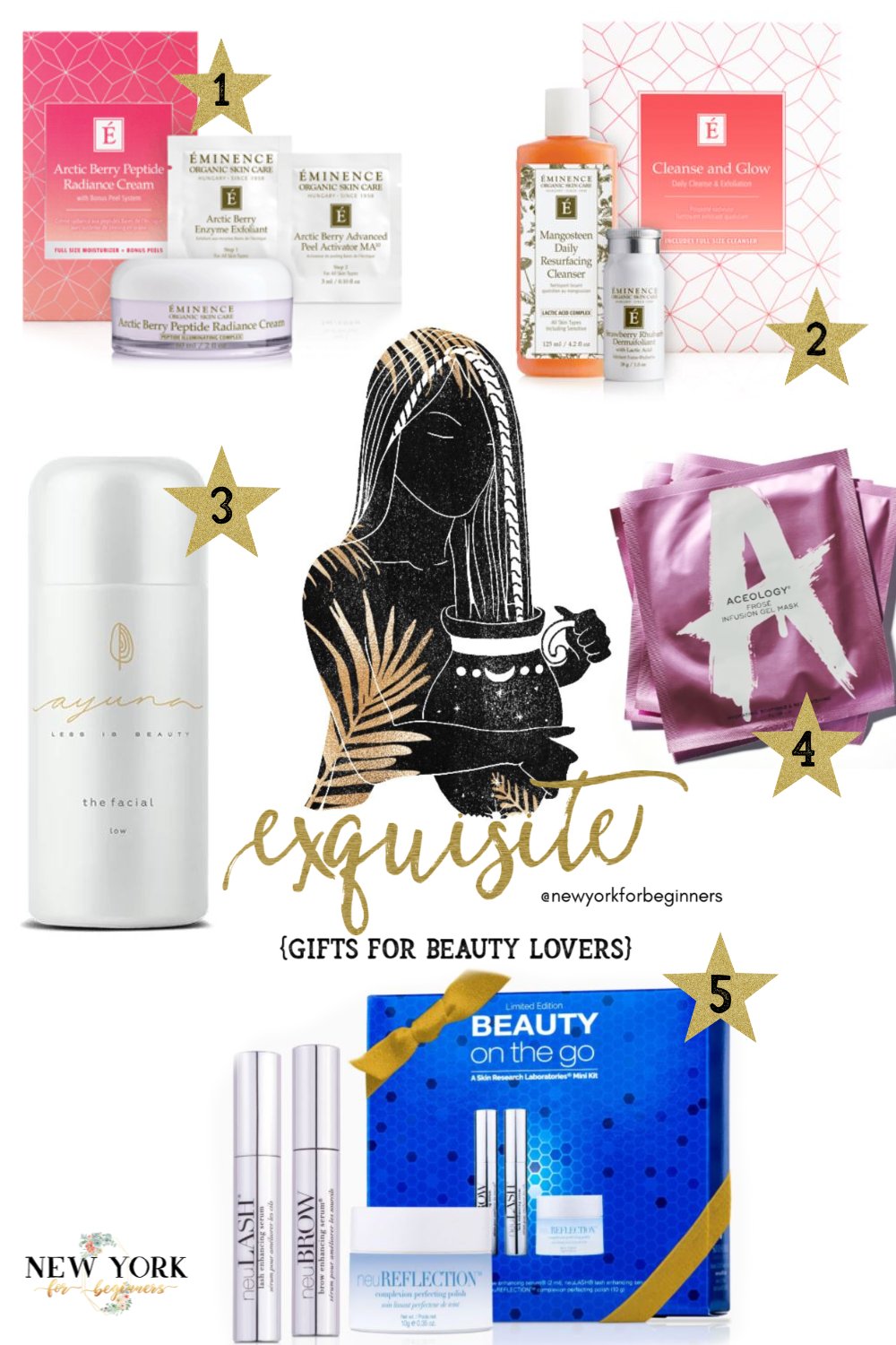exquisite gifts for beauty lovers NYFB