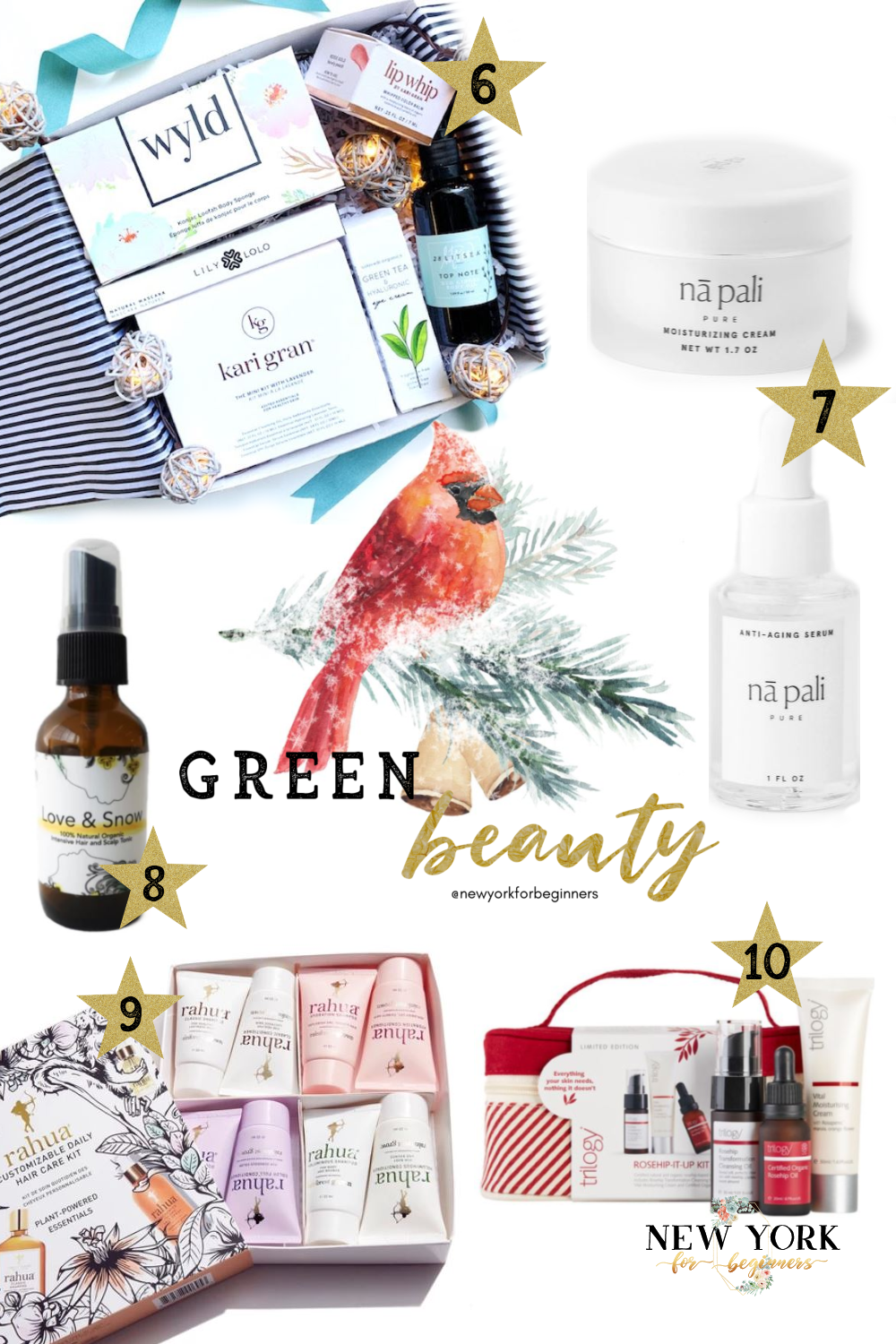 Green beauty holiday gift guide 2019