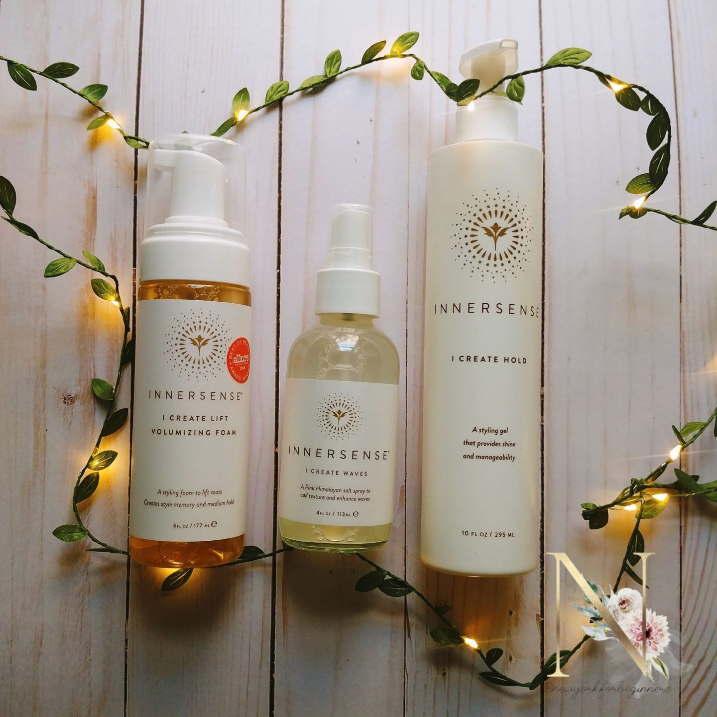 Innersense organic styling products