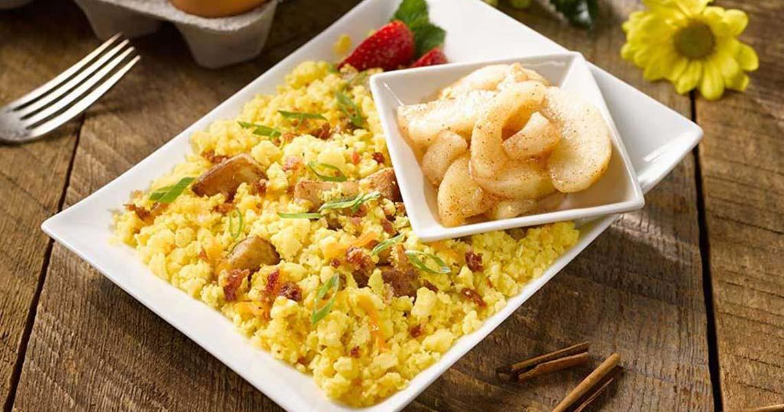 silver cuisine egg scramble
