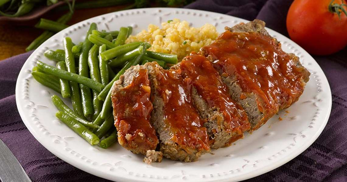 silver cuisine meatloaf with bourbon