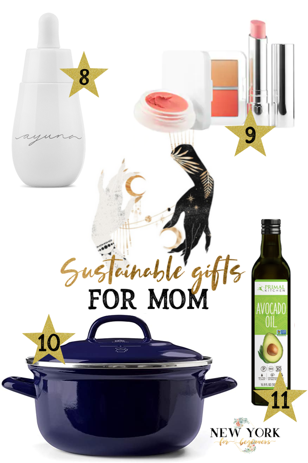 Sustainable and organic gifts for Mother's Day