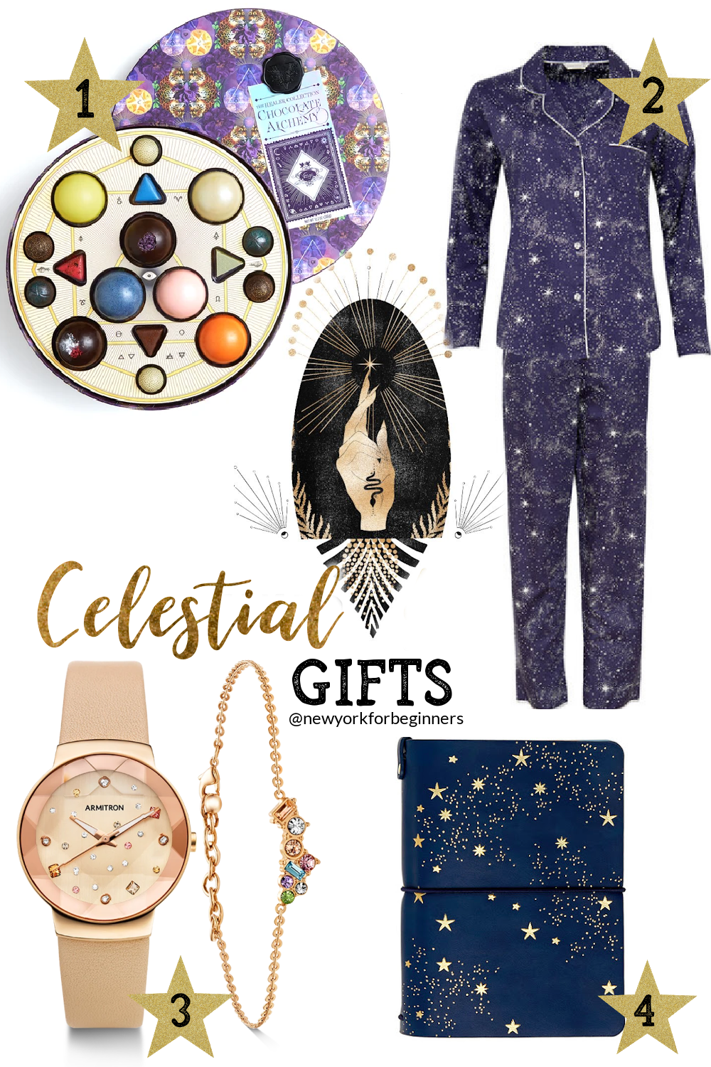 Celestial gifts for woman ideas