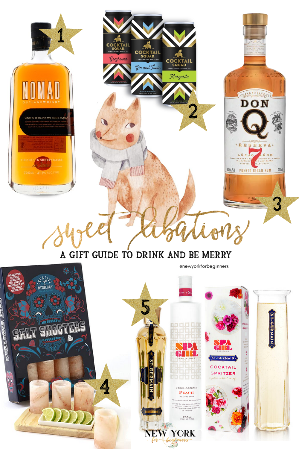 Gift guide to drink and be merry