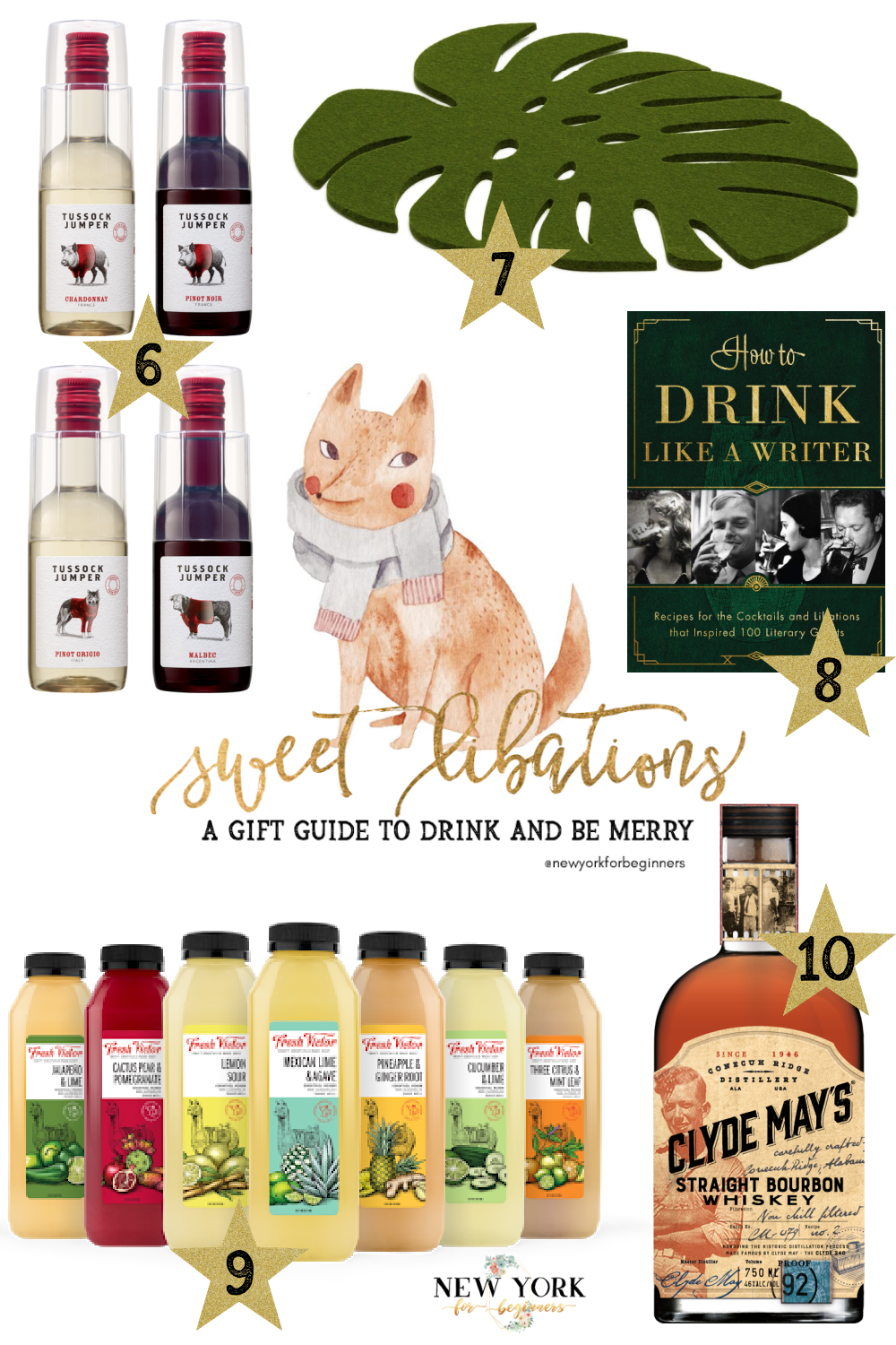Sweet libations gifts drink