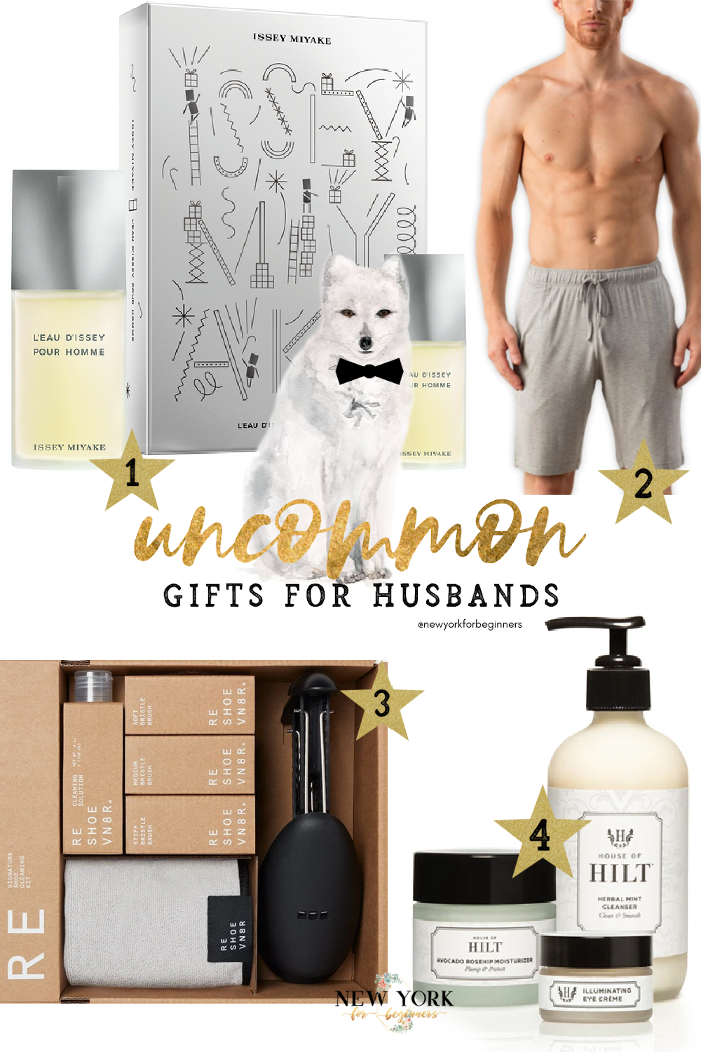 Uncommong gifts for husbands
