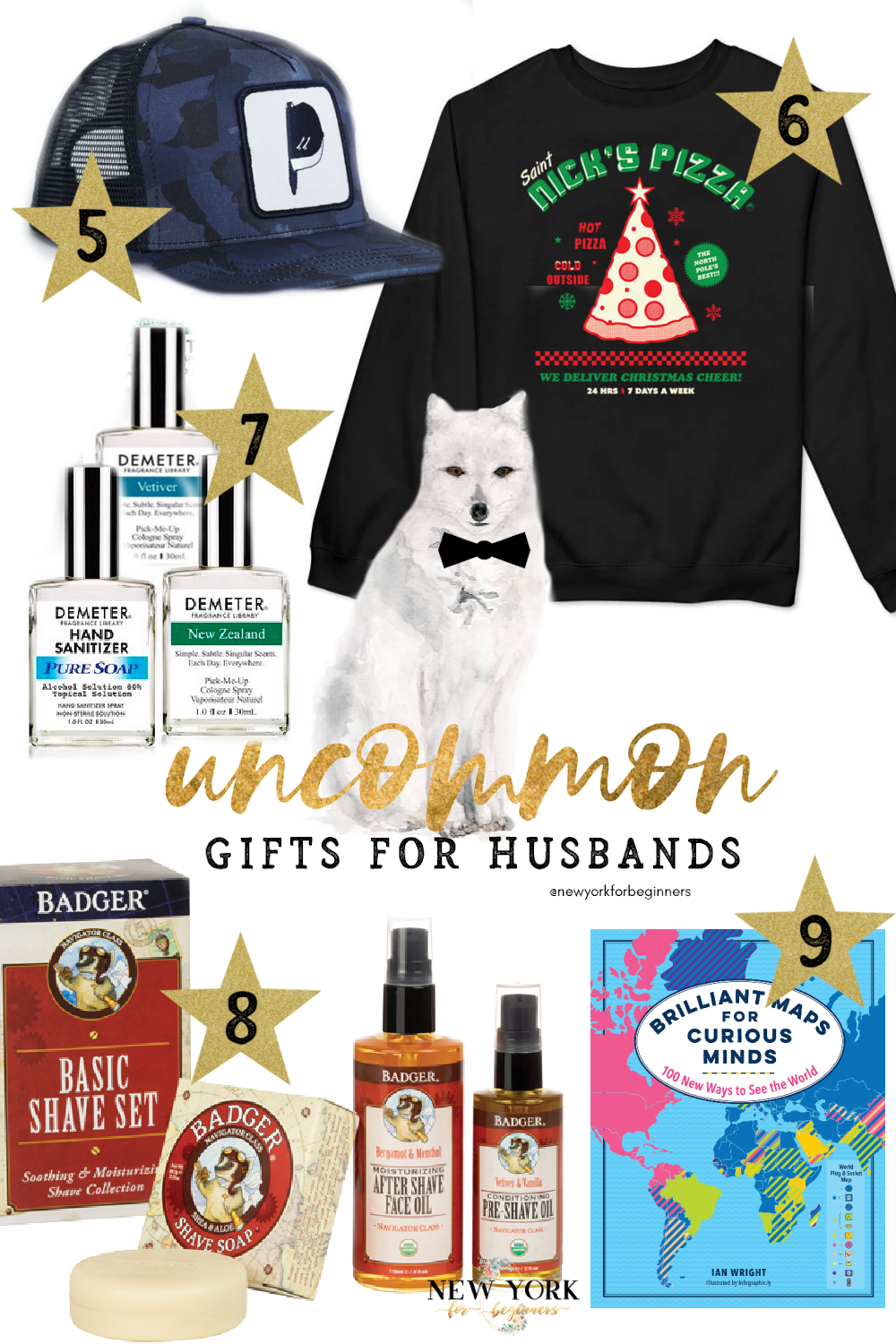 uncommon gifts for husbands 2020