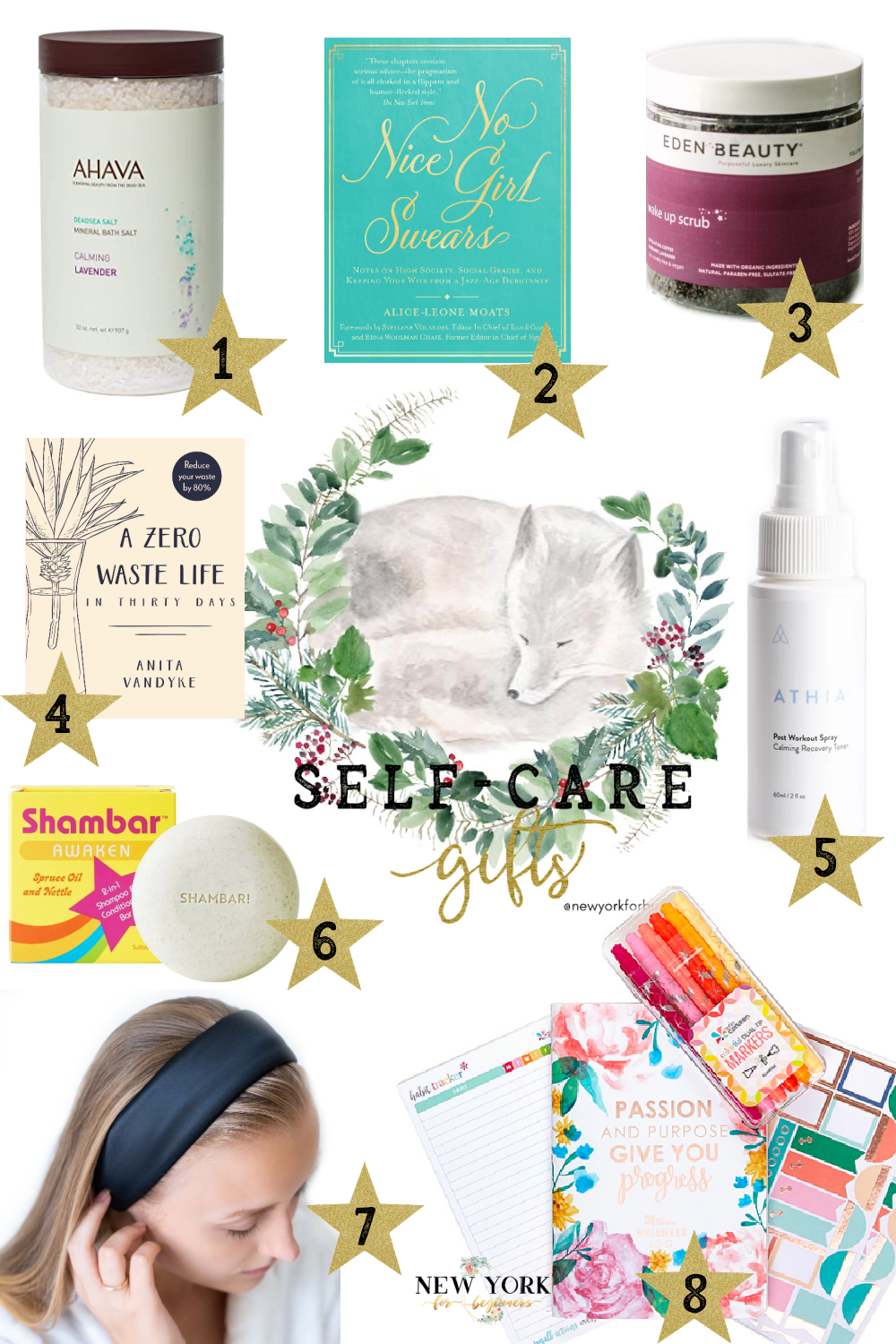 Self care gifts for the whole family